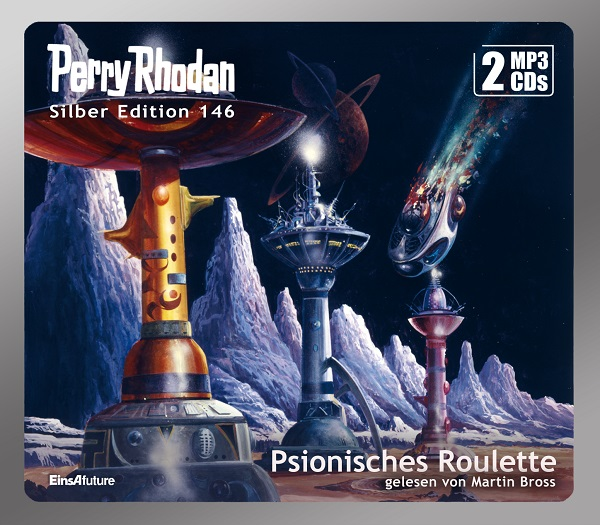 Perry Rhodan Silber Edition 146: Psionisches Roulette (2 MP3-CDs)