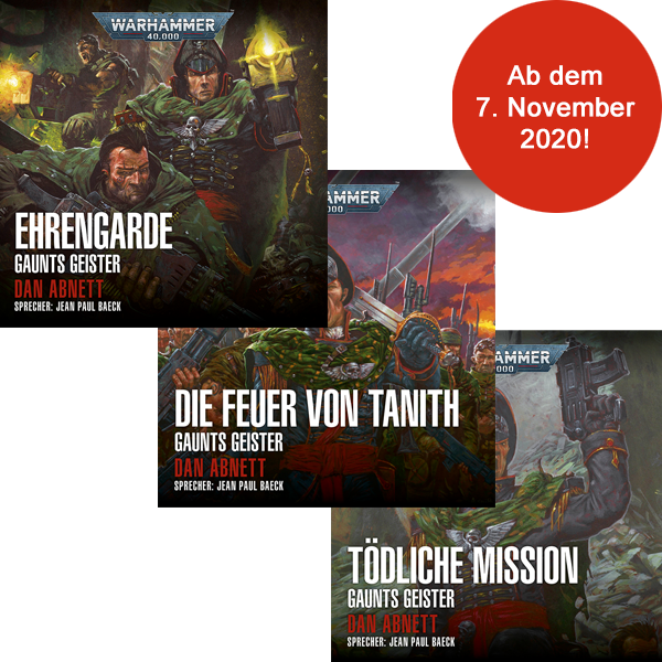 Warhammer 40.000: Gaunts Geister 4 - 6 (Hörbuch-Download-Abo)