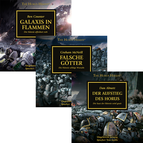 The Horus Heresy 01 - 03  (Hörbuch-Download-Paket)