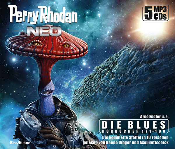 Perry Rhodan Neo MP3-CD Episoden 171-180 (5 CD-Box)