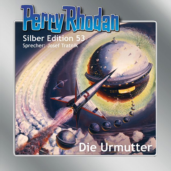 Perry Rhodan Silber Edition CD 53: Die Urmutter (15 CD-Box)