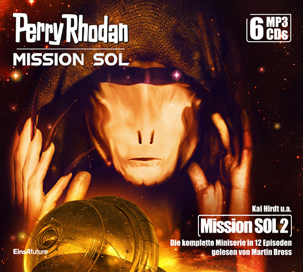 Perry Rhodan Mission SOL 2: Die komplette Miniserie (6 MP3-CDs) + Download