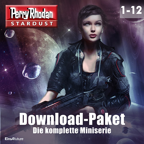 Perry Rhodan Stardust: Miniserie (12 Folgen) Download-Paket