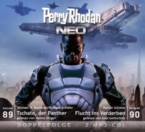 Perry Rhodan NEO - Tschato, der Panther / Flucht ins Verderben  (Folgen 89+90)