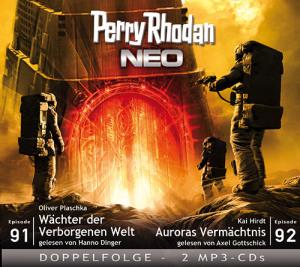 Perry Rhodan NEO -  Wächter der Verborgenen Welt / Auroras Vermächtnis (Folgen 91+92)