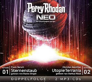 Perry Rhodan NEO - Sternenstaub / Utopie Terrania (Folgen 1 + 2)