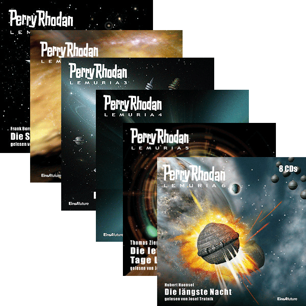 Perry Rhodan Lemuria Audio-CD Paket