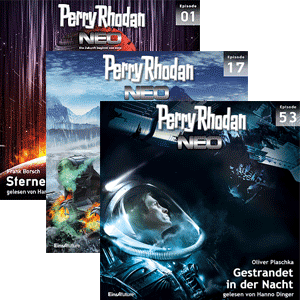 Perry Rhodan Neo Download-Pakete bis Episode 160