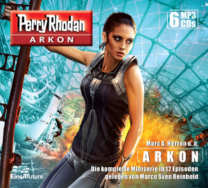 Perry Rhodan ARKON  -  Die komplette Miniserie (MP3-CD-Box)