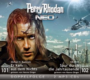 Perry Rhodan NEO -  Er kam aus dem Nichts / Spur durch die Jahrtausende (Folgen 101+102)
