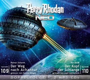 Perry Rhodan NEO -  Der Weg nach Achantur / Der Kopf der Schlange (Folgen 109+110)