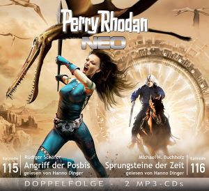 Perry Rhodan NEO -  Angriff der Posbis / Sprungsteine der Zeit (Folgen 115+116)