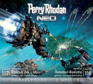 Perry Rhodan NEO -  Exodus der Liduuri / Roboter-Revolte (Folgen 117+118)