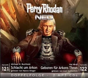 Perry Rhodan NEO -  Schlacht um Arkon / Geboren für Arkons Thron (Folgen 121+122)