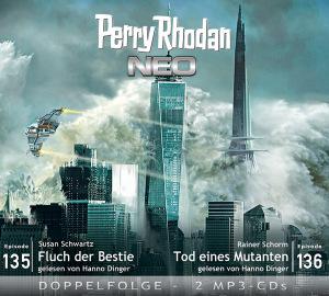 Perry Rhodan NEO -  Fluch der Bestie / Tod eines Mutanten (Folgen 135+136)
