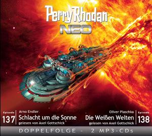 Perry Rhodan NEO -  Schlacht um die Sonne / Die Weißen Welten (Folgen 137+138)