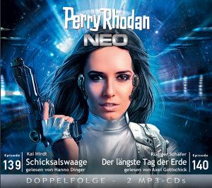 Perry Rhodan NEO -  Schicksalswaage / Der längste Tag der Erde (Folgen 139+140)