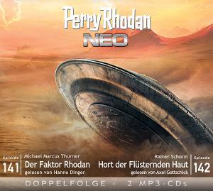 Perry Rhodan NEO -  Der Faktor Rhodan / Hort der Flüsternden Haut (Folgen 141+142)