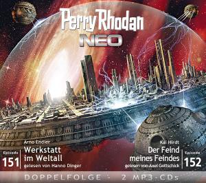 Perry Rhodan NEO -  Werkstatt im Weltall / Der Feind meines Feindes (Folgen 151+152)