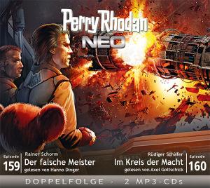 Perry Rhodan NEO -  Der falsche Meister / Im Kreis der Macht (Folgen 159+160)