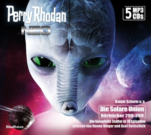 Perry Rhodan Neo MP3-CD Episoden 200-209 (5 CD-Box)